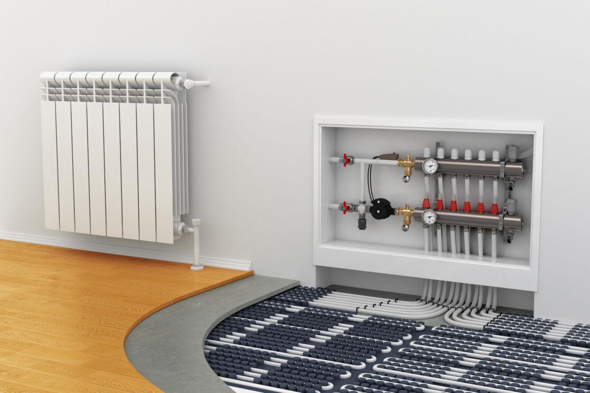 Системы отопления, виды отопления помещений