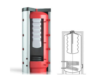 Тепловой аккумулятор ВТА/Н 1 – СОЛАРПЛЮС