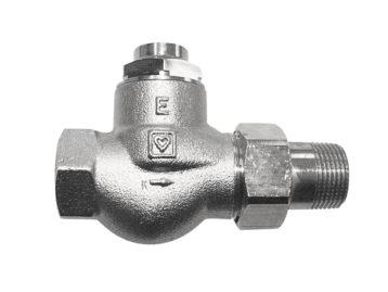 Вентиль запорный HERZ RL-1-E, проходной 1/2″