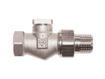 Вентиль обратной подводки HERZ RL-1, проходной, Rp 1/2 х R 1/2