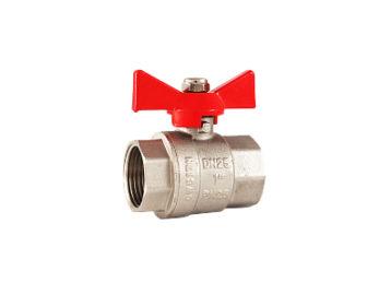 Кран RSk, шаровой BB для воды, полнопроходной, красная бабочка 1/2″