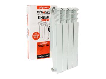 Биметаллический радиатор 500/100 4 секции TEPLOVER SUPER